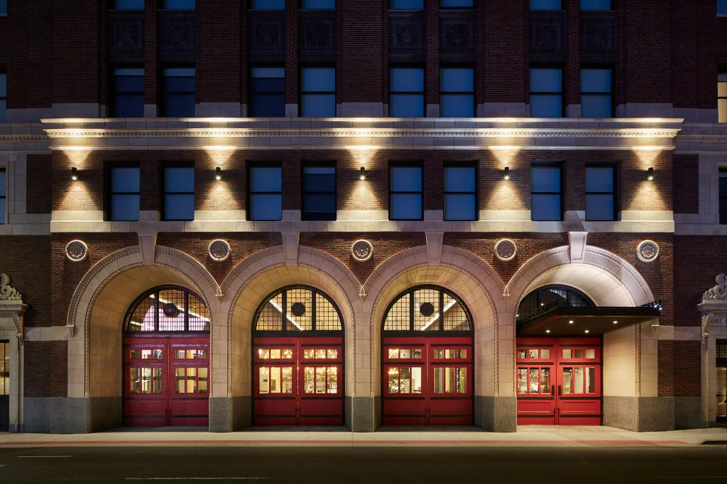 The Detroit Foundation Hotel: Adaptive Reuse Detroit, MI