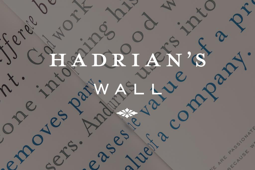 Hadrian's Wall: Identity, Infographics, Promotional... Chicago, IL