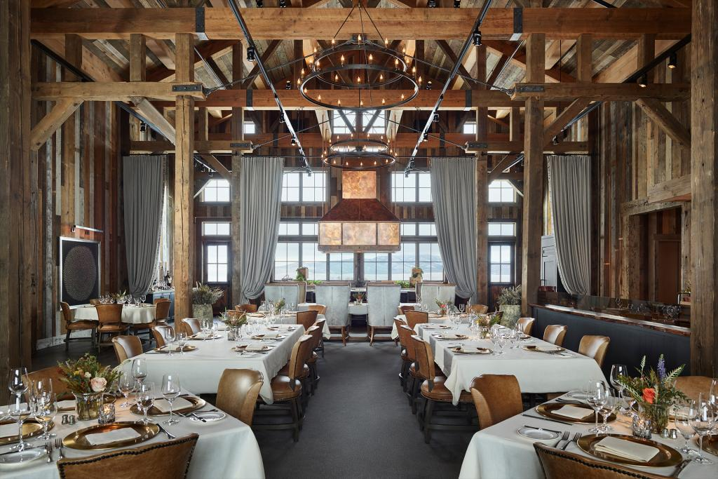 The Farm at Brush Creek Ranch: <p>Inspired by the mountainous vistas and storied land of its unique locale, Simeone Deary set out to create an unforgettable Wyoming resort destination through immersive food, beverage, and event experiences. The designers established a continuity of design language between the spaces within The Farm, each showcasing thoughtfully- appointed design elements of bespoke artisan heritage and nodding to the terrain and cultural disposition of the West.</p> Saratoga, Wyoming